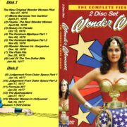 Wonder Woman Season 1 R0 Custom DVD Cover & Labels