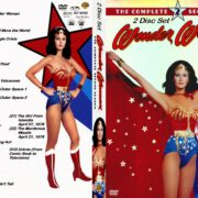 Wonder Woman Season 2 R0 Custom DVD Cover & Labels