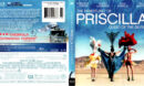 THE ADVENTURES OF PRISCILLA QUEEN OF THE DESERT (2011) R1 BLU-RAY COVER & LABEL