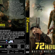 72 Hours: Martyr Who Never Died (2019) R0 Custom DVD Cover & Label