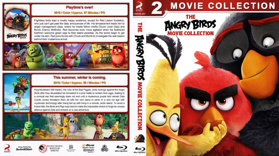 Angry Birds Collection R1 Custom Blu Ray Cover Dvdcover Com