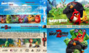 Angry Birds Double Feature R1 Custom Blu-Ray Cover