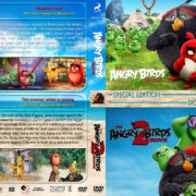 Angry Birds Double Feature R1 Custom DVD Cover