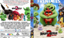 The Angry Birds Movie 2 (2019) R0 Custom DVD Cover & Label