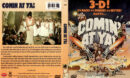 COMIN' AT YA! 3D (1981) R1 DVD COVER & LABEL