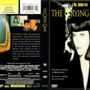 THE CRYING GAME (1992) R1 DVD COVER & LABEL