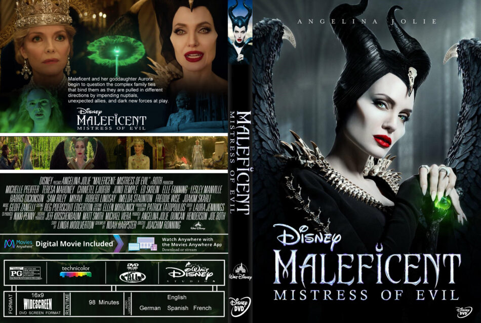 Maleficent Mistress Of Evil 2019 R0 Custom Dvd Cover Label Dvdcover Com