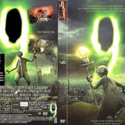 9 (2009) R1 DVD Cover & Label