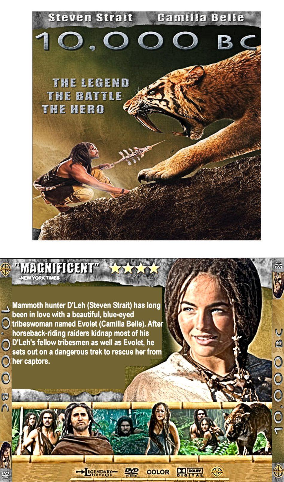 10 000 B C 2008 R1 Custom Vcd Cover Label Dvdcover Com