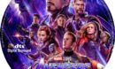 Avengers-Endgame (2019) R0 Custom DVD Label