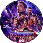 Avengers-Endgame (2019) R0 Custom DVD Label