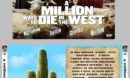 A Million Ways to Die in the West (2014) R1 Custom VCD Cover & Label