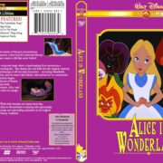 Alice in Wonderland (1951) R1 Custom DVD Cover & Label