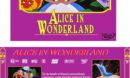 Alice in Wonderland (1951) Custom VCD Cover & Label