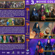 Descendants Triple Feature R1 Custom DVD Cover