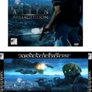 Alien Armageddon (2011) R1 Custom VCD Cover & Label