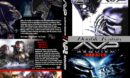 Alien vs Predator Double Feature (2004-2007) R1 Custom DVD Cover & Label