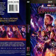 Avengers Endgame (2019) R1 DVD Cover
