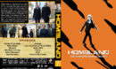 Homeland - Season 7 (2018) R1 Custom DVD Cover & Labels