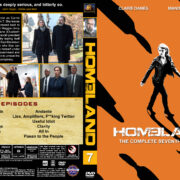 Homeland - Season 7 (2018) R1 Custom DVD Cover & Labels