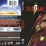 Shazam! (2019) R1 4K UHD Cover & Labels