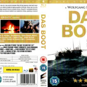 DAS BOOT DC (1981) R2 BLU-RAY COVER & LABELS