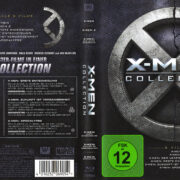 X-Men 1-6 Collection (2016) R2 German Blu-Ray Covers & Labels