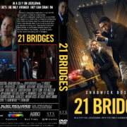 21 Bridges (2019) R0 Custom DVD Cover & Label