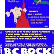 B.C. Rock (1980) R0 Custom VCD Cover & Label