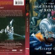 THE CHRONICLES OF NARNIA THE SILVER CHAIR (2002) R1 DVD COVER & LABEL