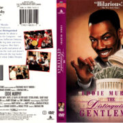 THE DISTINGUISHED GENTLEMAN (1992) R1 DVD COVER & LABEL