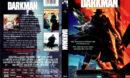 DARKMAN (1990) R1 DVD COVER & LABEL