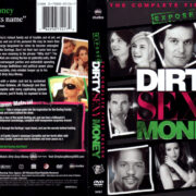 DIRTY SEXY MONEY SEASON ONE (2008) R1 DVD COVER & LABELS