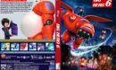 Big Hero 6 (2014) R2 Custom DVD Cover & Label