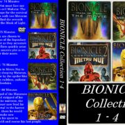 Bionicle Collection 1-4 R1 Custom DVD Cover & Label