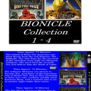 Bionicle Collection 1-4 R1 Custom VCD Cover & Label