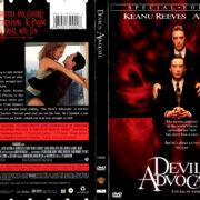 DEVIL'S ADVOCATE (1997) R1 DVD COVER & LABEL