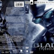 Blade Trilogy (2004) R1 Custom DVD Cover & Label