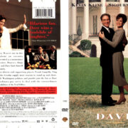 DAVE (1993) R1 DVD COVER & LABEL