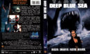 DEEP BLUE SEA (1999) R1 DVD COVER & LABEL