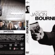 Jason Bourne (2016) R2 German DVD Cover