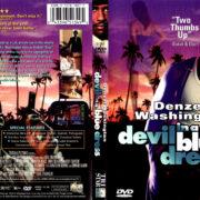 DEVIL IN A BLUE DRESS (1995) R1 DVD COVER & LABEL