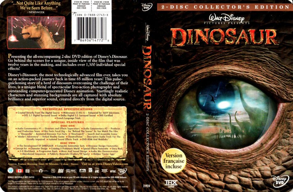 Dinosaur 2000 R1 Dvd Cover Labels Dvdcover Com