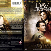 DAVID AND BATHSHEBA (1951) R1 DVD COVER & LABEL