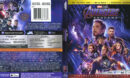 Avengers: EndGame (2019) R1 4K UHD Cover & Labels