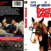 DOCTOR DOLITTLE (1967) R1 DVD COVER & LABEL