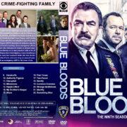 Blue Bloods - Season 9 (2019) R1 DVD Cover & Labels