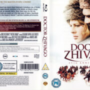 DOCTOR ZHIVAGO (1965) R2 BLU-RAY COVER & LABELS