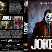 Joker (2019) R1 Custom DVD Cover & Label