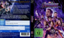 Marvel Avengers: Endgame (2019) R2 German Custom Blu-Ray Covers & Label